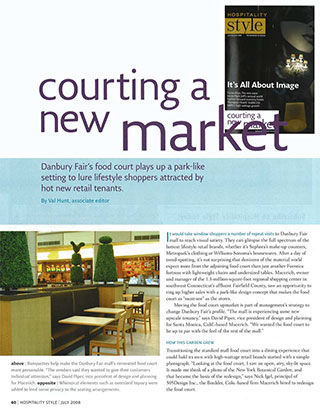 Courting a New Market